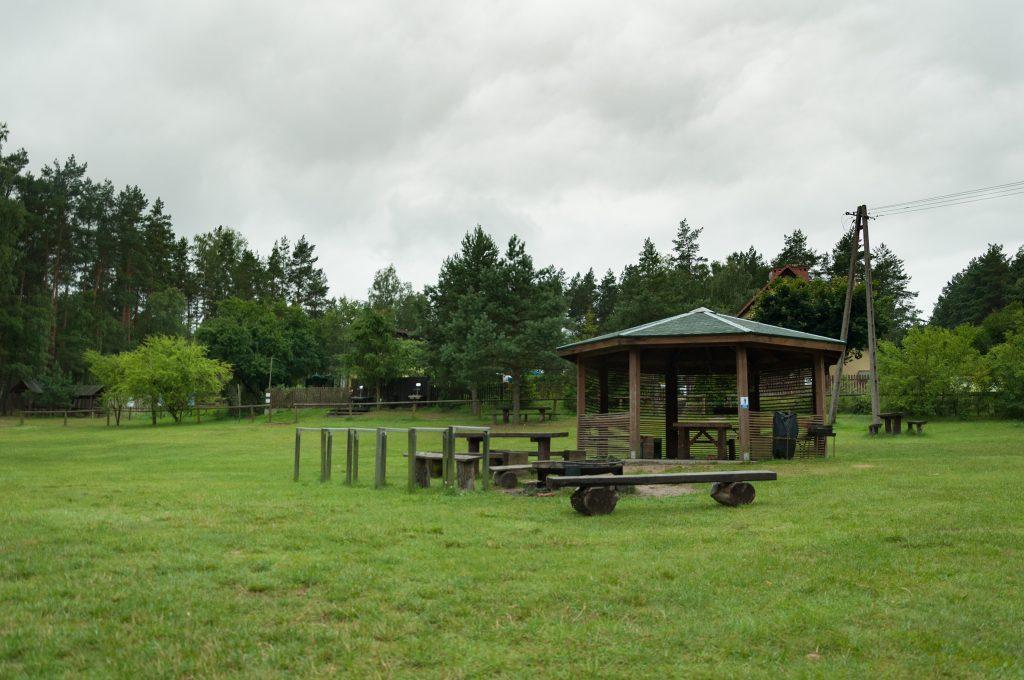 Camping Pole Namiotowe Boberek