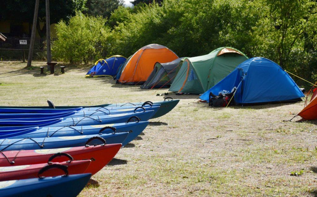 Pole Boberek - pole namiotowe